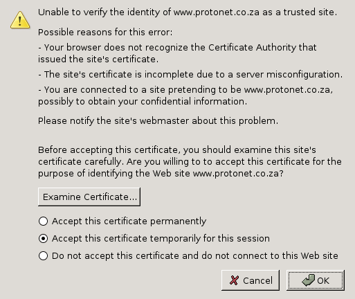 "3. Certificate Management The only special entry field above is the ""SSL/TLS protected site name"". All other entry fields have the same meaning as for regular (non-ssl) clusters."
