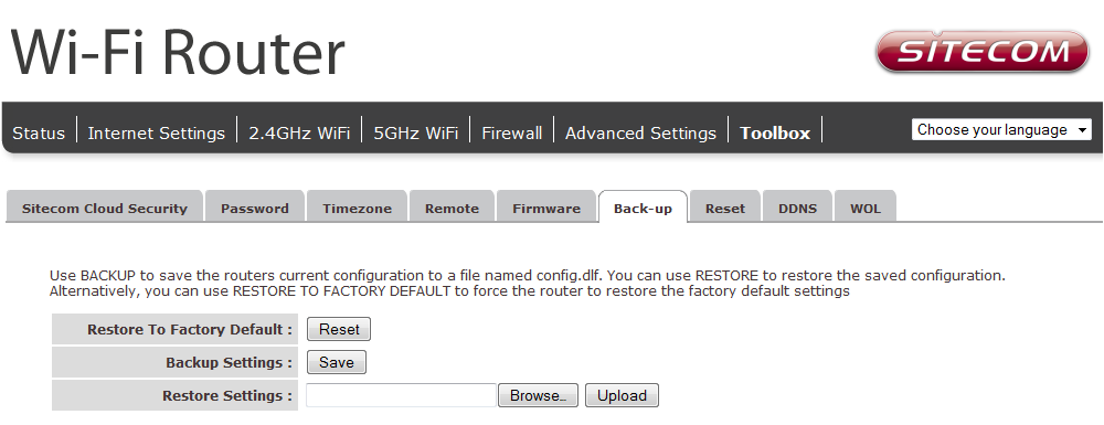 Enable automatic firmware update: When enabled the router will periodically check if a new firmware is available. If a new firmware is detected the router will give a notification.