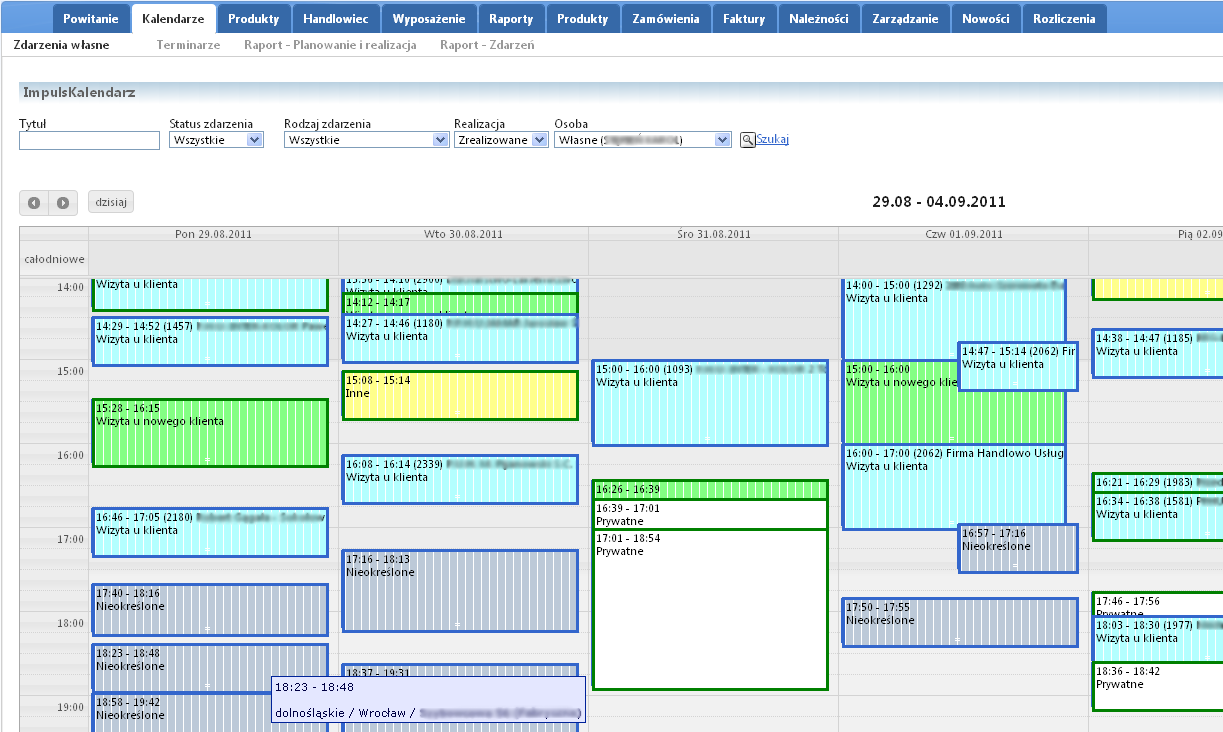 Scheduler integrated