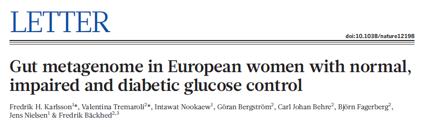 145 Swedish women with NGT, IFG or T2D Could identify women with T2D like