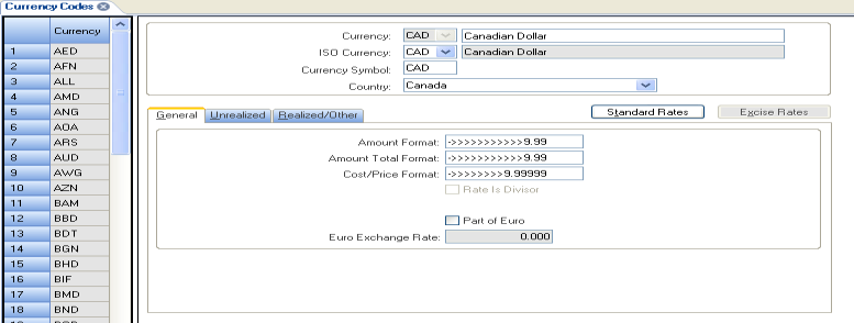 Multi-Currency Infor ERP SyteLine Multi-Currency allows you to buy and sell in foreign currencies.