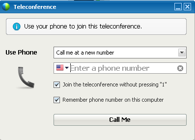 Receiving a call back Follow the steps listed in the table below to receive a call back (screenshot below).
