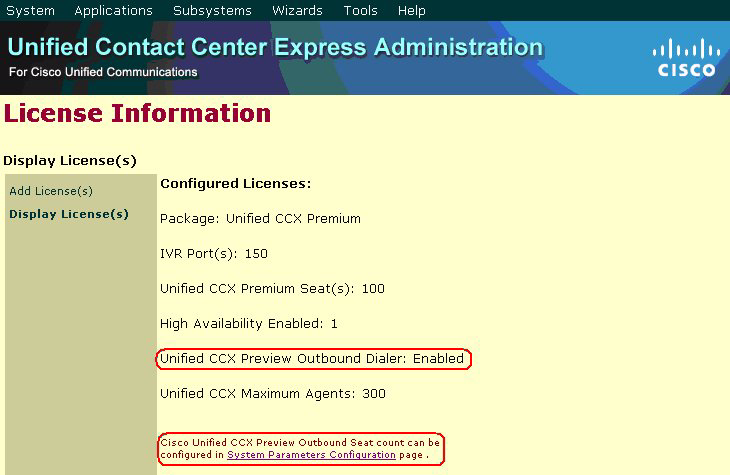 Chapter 7 Upgrading CRS 5.0(x) to Cisco Unified CCX 7.0(1) Preview Outbound Configuration in Cisco Unified CCX 7.