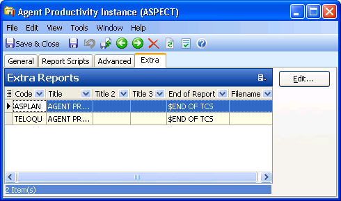 Agent Productivity Tasks b. Click a cell in the Value column, and enter a value. The value defines an AP instance flag. Only flags valid for the selected ACD appear.