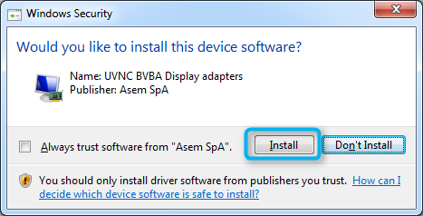 Figure 3 Accept the license terms and proceed with the installation.
