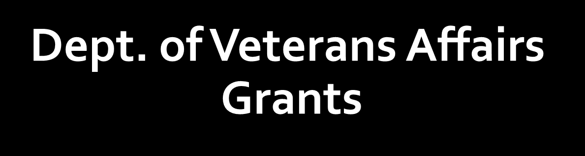 Dept. of Veterans Affairs Grants DESAI, RANI A -- Gender Differences in Post-deployment Addictive Behaviors Among Returning Veterans CURRAN, GEOFFREY -- An Ethnographic Study of Post-Deployment