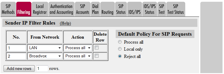 Inhibit Hold - This setting controls if the firewall should remove requests for on-hold from SDP offers before forwarding them.