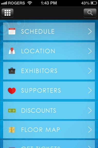MOBILE APP DEVELOPMENT GLUTEN FREE EXPO Mobile App The mobile app