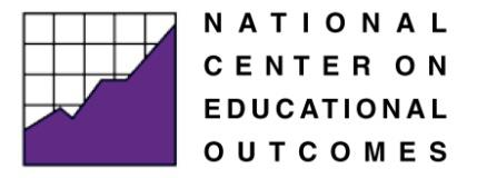 The five partner organizations include: The National Center on Educational Outcomes (NCEO) at the University of Minnesota, The National Center for the Improvement of Educational Assessment (Center