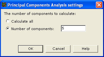 D Statistics and algorithms - Principal Component Analysis The Principal Component Analysis can be calculated for proteins, spot maps and experimental groups.