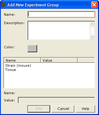 Setup 5 c. Select whether the Condition type should be Text or Number by choosing the appropriate radio button. d.