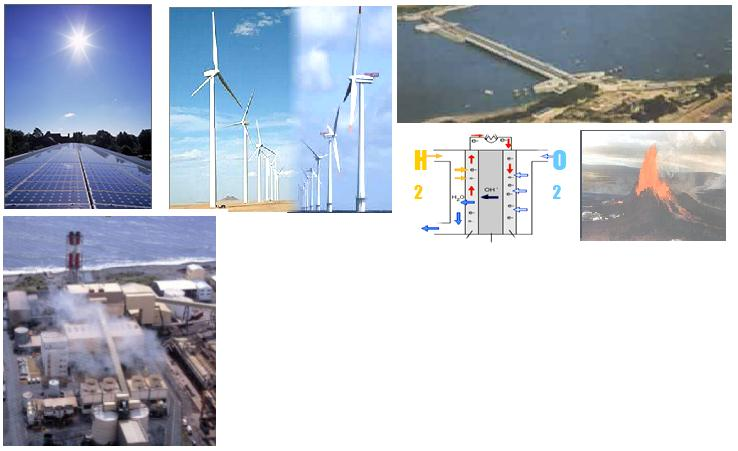 Renewable energies and GD.