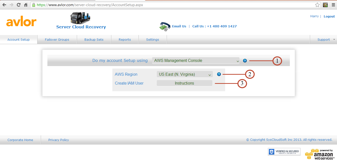 11 Your account setup with AWS Cloud Formation Script has been completed successfully.