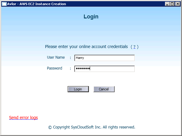 30 Figure 28: Login Step 2: Server Selection After login, you need to select the server.