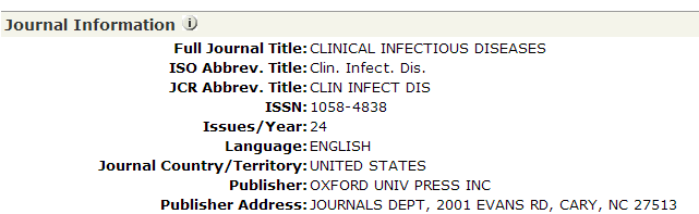 Do the contributing authors, EAB represent the international research community? Publication Name=(Clinical Infectious Diseases ) Impact Factor (2012) : 9.