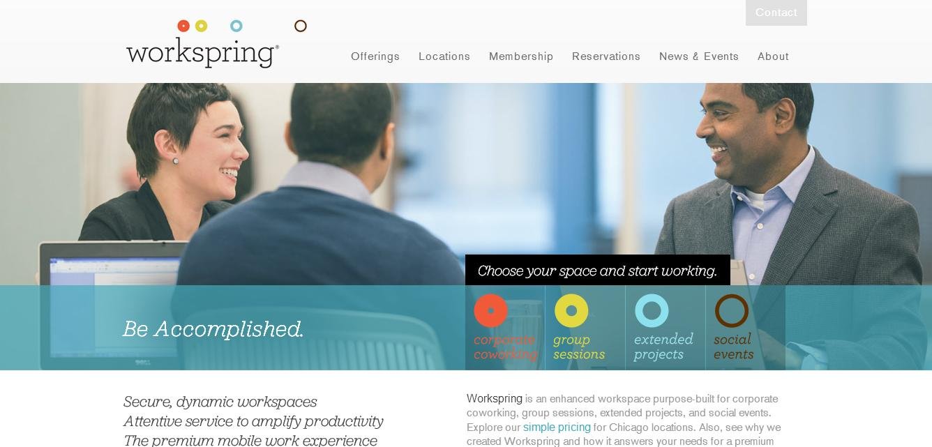 Marriott launches Workspring a shared co-working spot on demand.