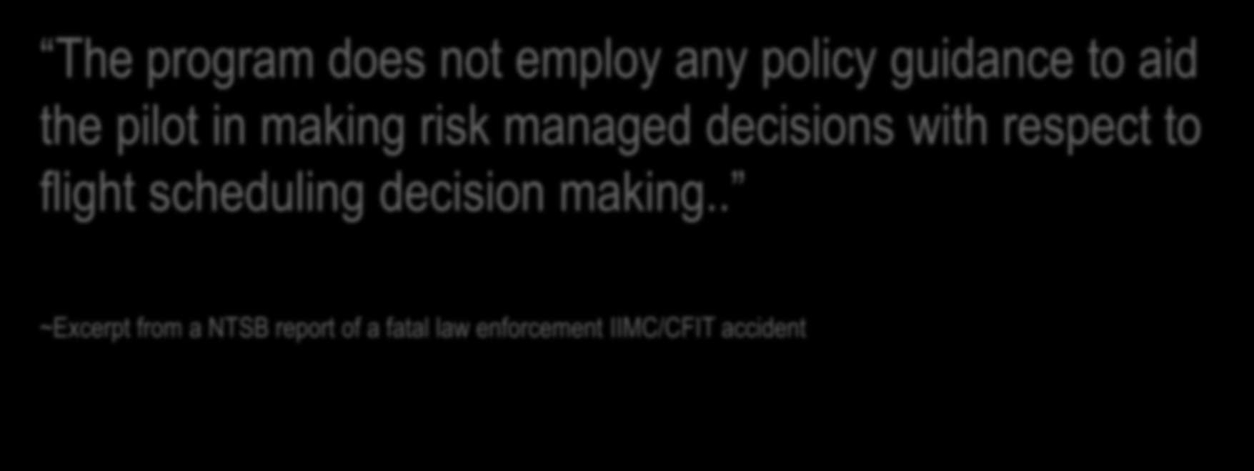 "SHIFT IN DEFINITION OF WHAT RISK IS In the 1970 s Occupational Risk Management was implemented to shift ""One safety thing we management learned from from this government accident oversight is that if"