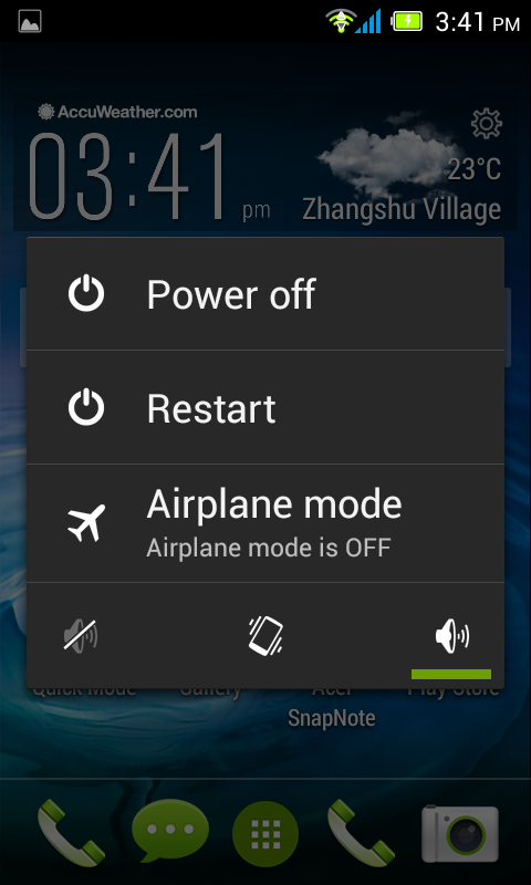 Putting your smartphone in Airplane mode You can enter Airplane mode (also known as flight mode) to turn off telephone, wireless, and Bluetooth functions and use your smartphone as a handheld device