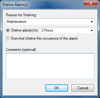 Alarm grouping replaces long lists Like alarm shelving and hiding, alarm grouping is another mechanism to reduce the number of alarms, thereby helping operators handle key tasks with their full,