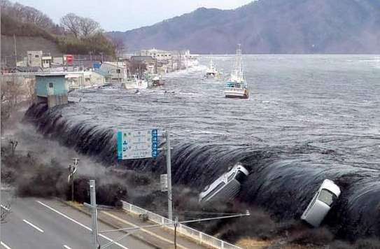 2011.03.11 Tohoku Earthquake and Tsunami Damages caused by Tsunami Epicentral area ca. 500km long (N-S) and 200km wide (E-W) Max. 14.