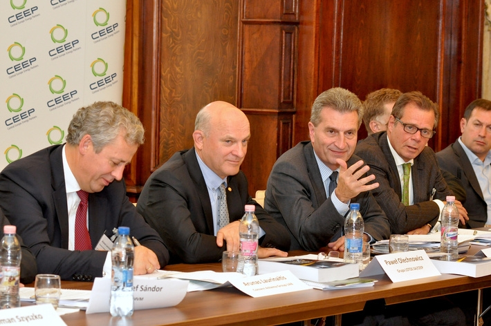 """The Energy Sector in Central Europe. Challenges, Opportunities and Pitfalls"" conference in Prague. April 2012."