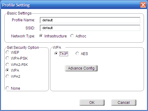 Section 4 - Wireless Security Configure WPA/WPA2 Using the D-Link Wireless Connection Manager WPA and WPA2 are for advanced users who are familiar with using a RADIUS server and setting up