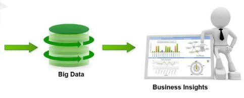 Harnessing Big Data for Business Insights Data Sources Big Data Infrastructure Business