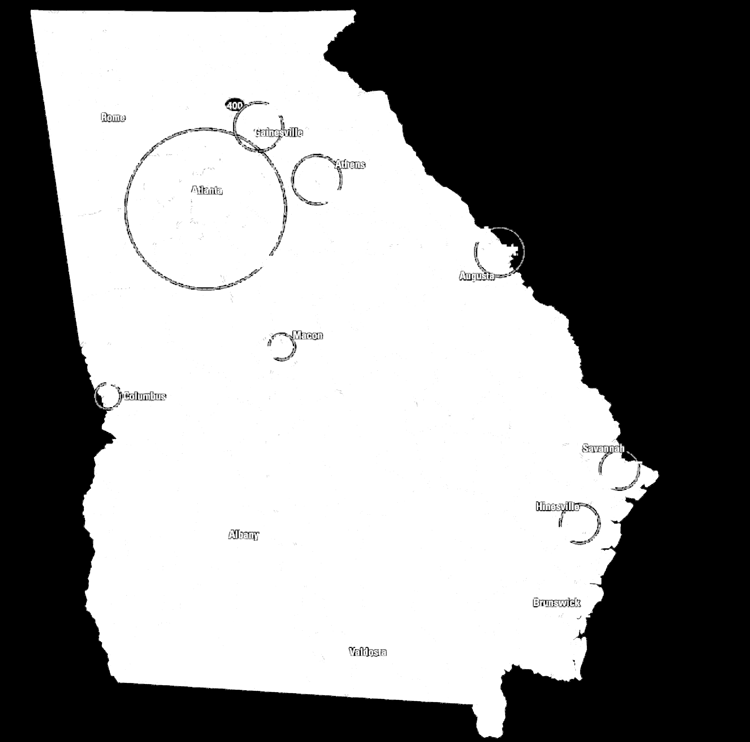 Georgia s Bioscience Industry by Area of Specialty (10 or more employees) Bioinformatics Biologics Biotechnology Blood & Organ Bank