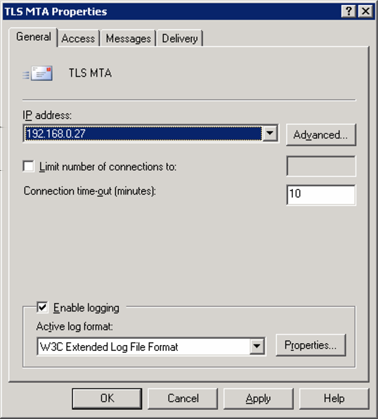 Microsoft Exchange Server 2003 Testing secure communications 28 To test secure connection 1 Telnet to port 25 of the IP address that the virtual server is running on. 2 Type in EHLO and press Enter.