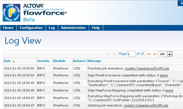 It only takes a few minutes to set up, run, and review the results of jobs like this on FlowForce Server. Wildcards or Hot Folders?