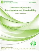 International Journal of Development and Sustainability Online ISSN: 2168-8662 www.isdsnet.