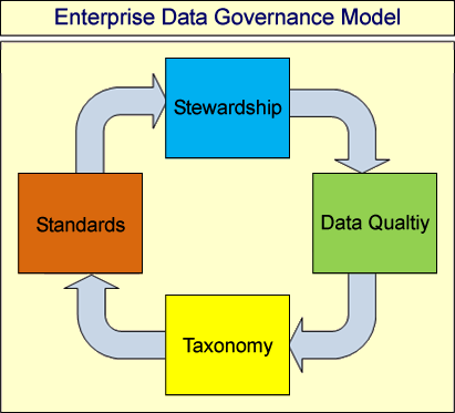 DATA GOVERNANCE MODEL (1) Stewardship Individuals throughout the business empowered to drive common metric definitions, uniform standard operating procedures and consistent data management
