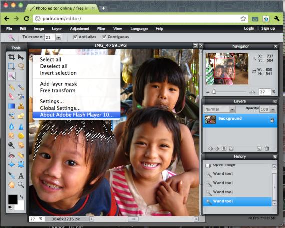 a very powerful and can do almost all basic effects same as other desktop application.
