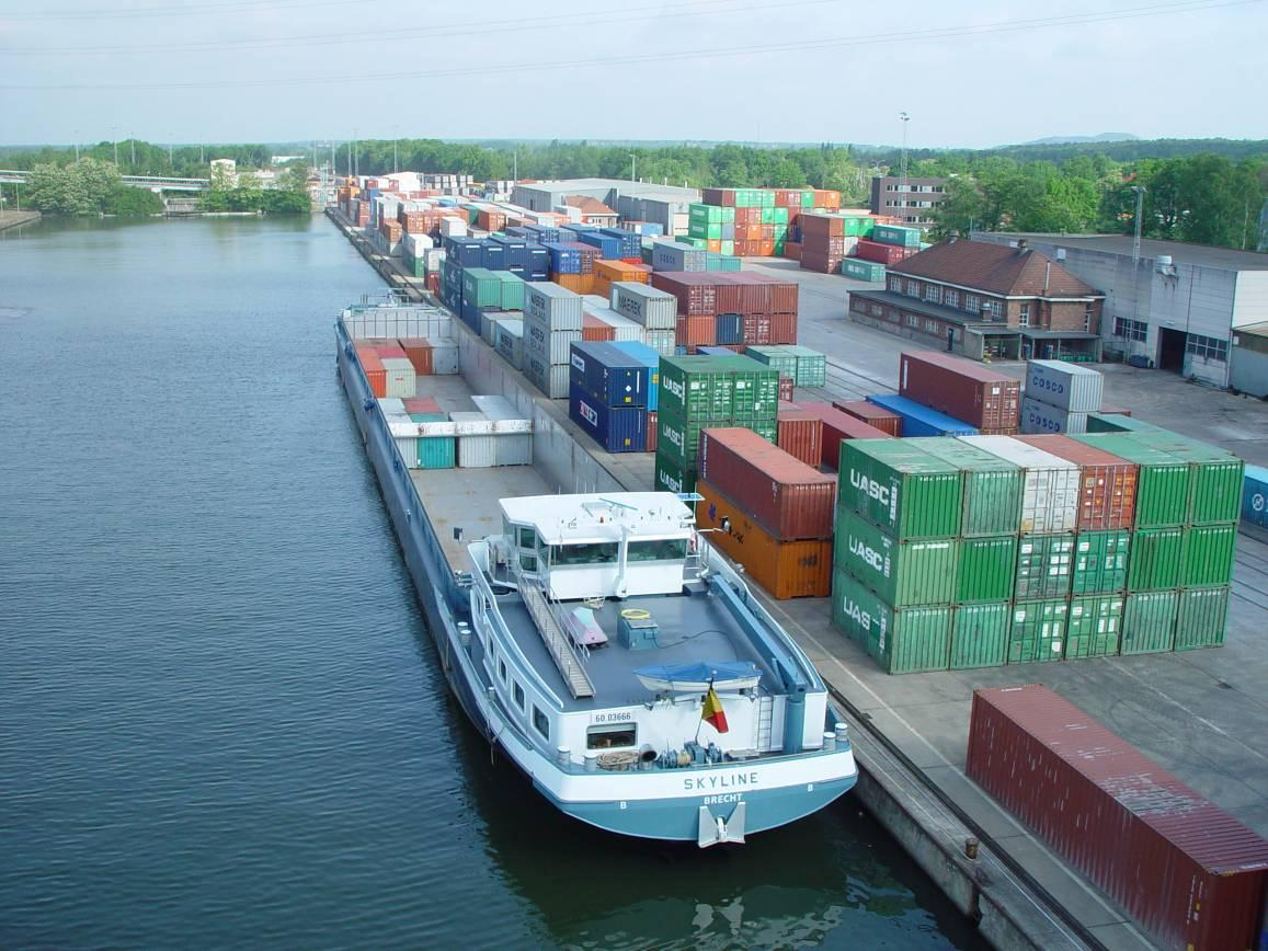 Trimodal Logistic Services: Barge
