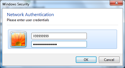 Click OK 27. If you entered your password correctly you should now be connected.
