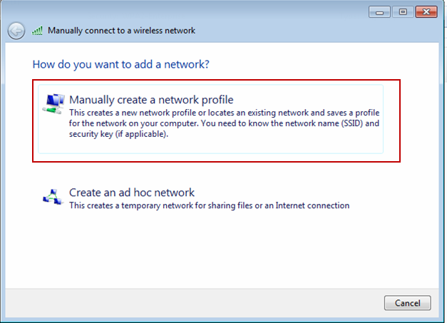 networks. Step 4.