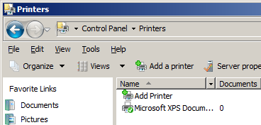 5.1 Windows Vista/Server 2008 5 Installing the printer driver by specifying the IP address using the Add Printer Wizard 0 Installing the driver to Windows Vista/Server 2008-based computers requires