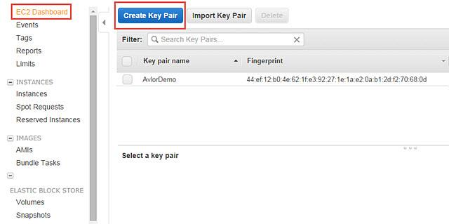 NOTE: Instance Name should not exceed 100 characters. 4. Key Pair Name: Enter the Key Pair Name.