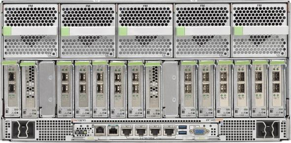 SPARC T5-4 Enterprise Server Next Generation 4-socket SPARC Server Compute 2x or 4x SPARC T5 16-core CPU 32x or 64x DDR3 DIMMs Max 1TB (16GB DIMMs) or 2TB (32GB DIMMs) memory I/O and Storage 16x PCIe