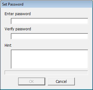 2 Click [Config], and then click [Set Password]. Click [Config], then select [Set Password]. If a RAID Password is Configured If a RAID password is already set, enter it and click [OK].
