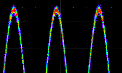 "Operator's Manual Persistence The Persistence feature retains waveform traces on the display for a set amount of time before allowing them to gradually ""decay,"" similar to the display of old phosphor"