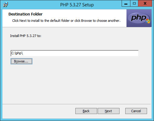 Install PHP to