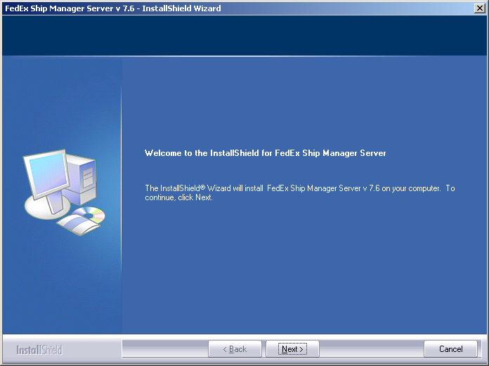 Chapter One: Setting Up FSMS Upgrading from a Previous Version of FSMS 1. Insert the FSMS software CD in your CD drive, and select Run from the Windows Start menu. 2.