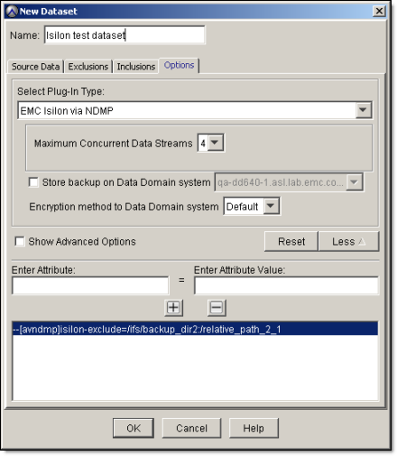 Using Isilon Storage Devices 5. Click OK.