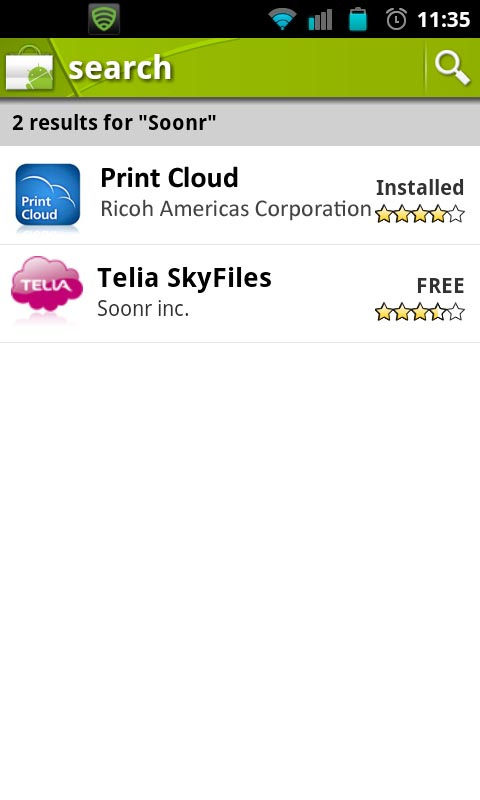 9 Printing from an Android Phone with the Print Cloud Application 1. Obtain Print Cloud account.