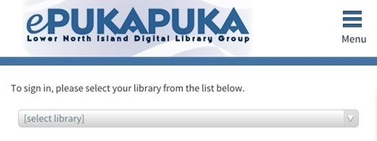 Using the OverDrive App with epukapuka Once the device is authorised, tap the Overdrive Bookshelf icon Tap