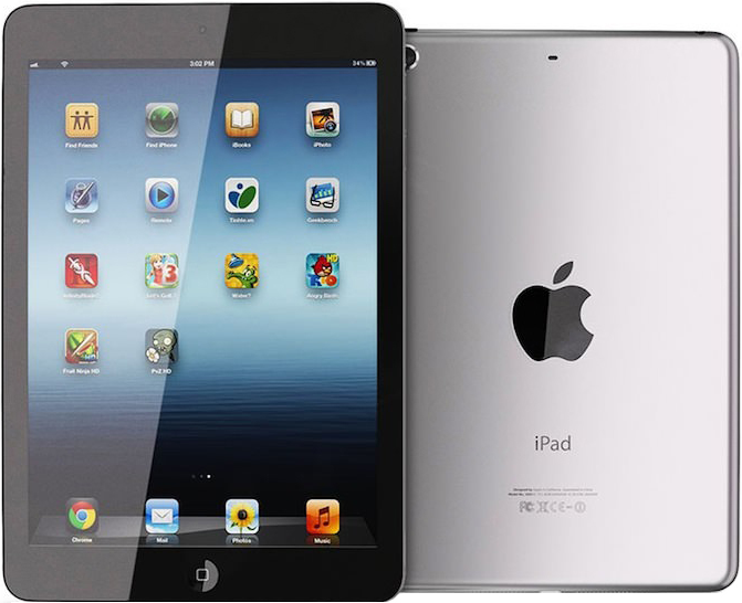 Apple ipad mini The ipad mini delivers the full ipad experience beautiful screen, fluid performance, FaceTime and isight cameras, and 10-hour battery life to a device that fits in one hand.