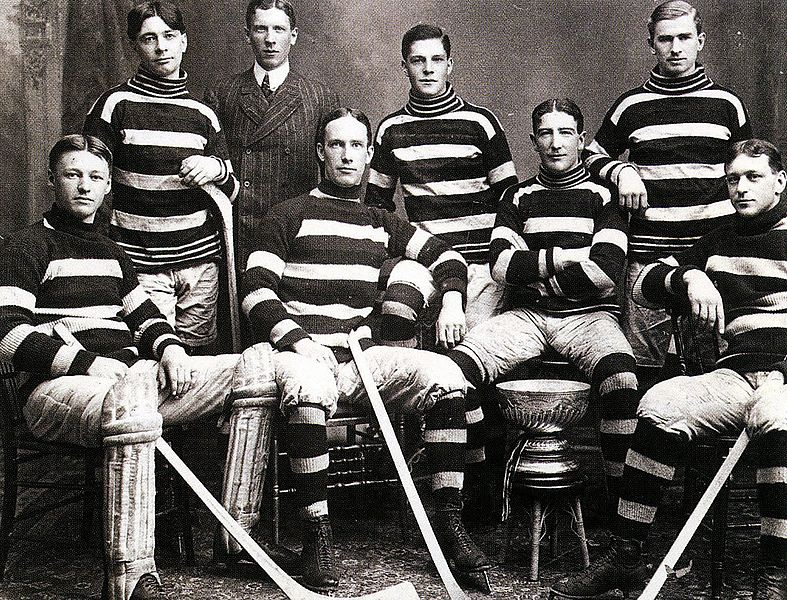 Stanley Cup Champions 1905 Lord Stanley: At the Montreal Winter Carnival in 1889, at a match between the Montreal Victorias and the Amateur Athletic Association, Sir Frederick Arthur Stanley,