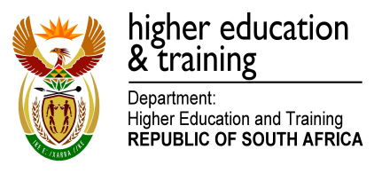 students. The management of the SSDF programme is performed in accordance with the memorandum of agreement (MoA) between the National Research Foundation (NRF) and the DHET. 2.