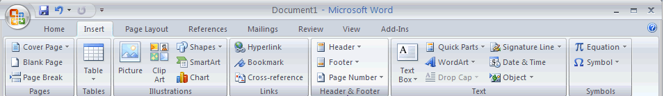 Header Picture 1.13: Header and Footer Headers are areas in the top margins of each page in a document.go toview Header and footer The header will appear as a dotted area on the top of the page.